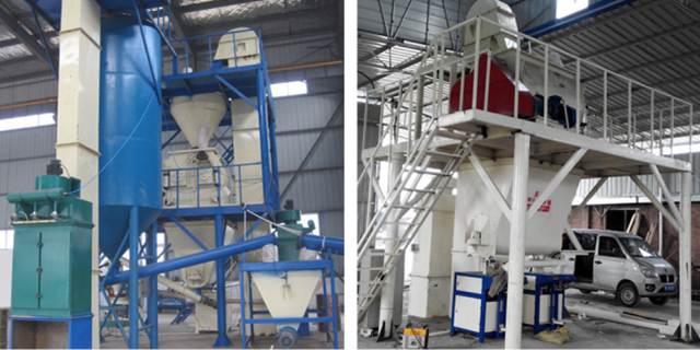 12t/h automatic dry mortar plant hot sale in India, Malaysia, Philipine, Indonesia