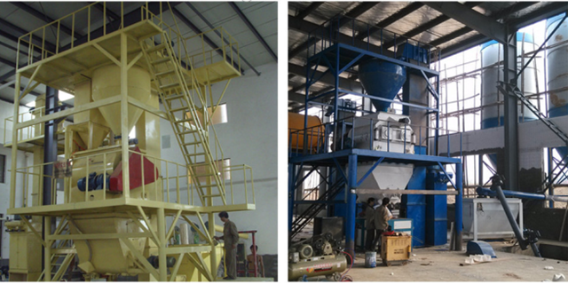 15t/h automatic dry mortar plant sand cement mix masonry mortar plaster mortar plant