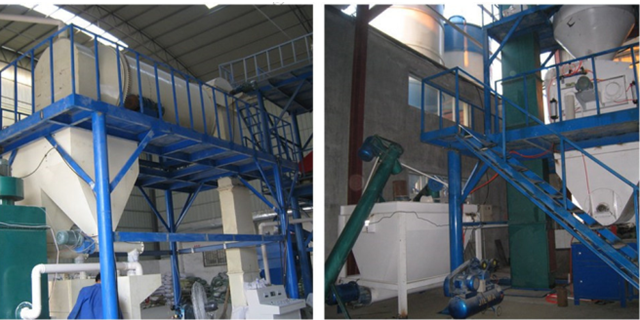 dry construction materials manufacturing machine