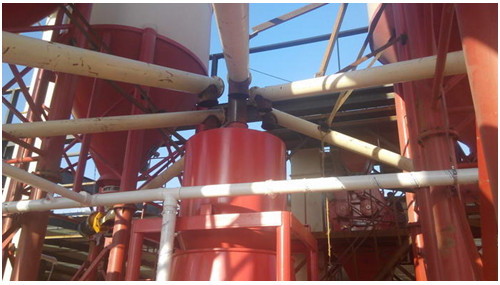 weighing hopper with high precise load sensor in cement glue production line